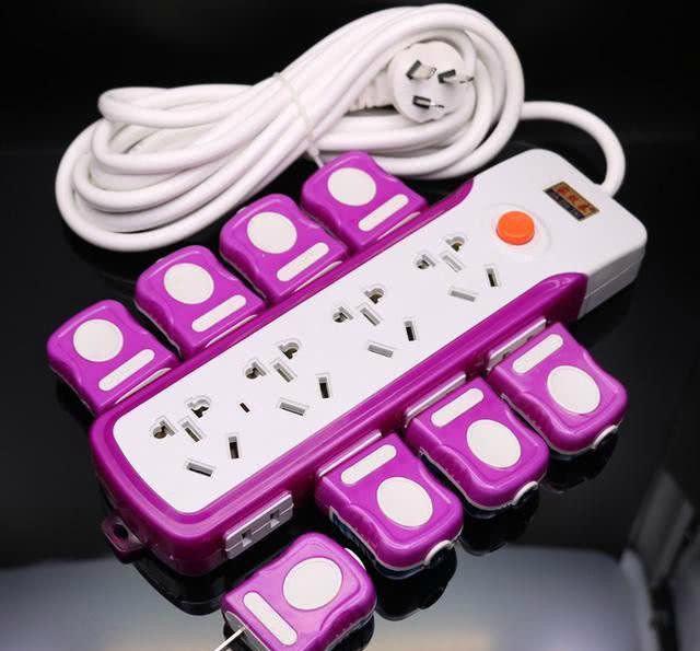 老式插座难看又占地方,现流行这些高颜值的插座,安全提升好几档