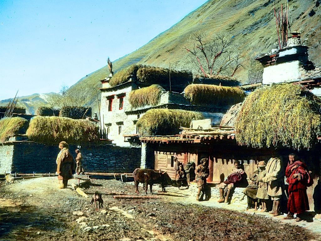 老照片 | 西藏风景,1931年.heim