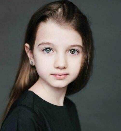 亚美尼亚和俄罗斯的混血小孩,非常的漂亮,估计是俄罗斯的基因比较优良图片