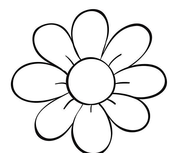 花朵和房子是小朋友最经常接触到的画画了,尤其是幼儿小女孩,特别