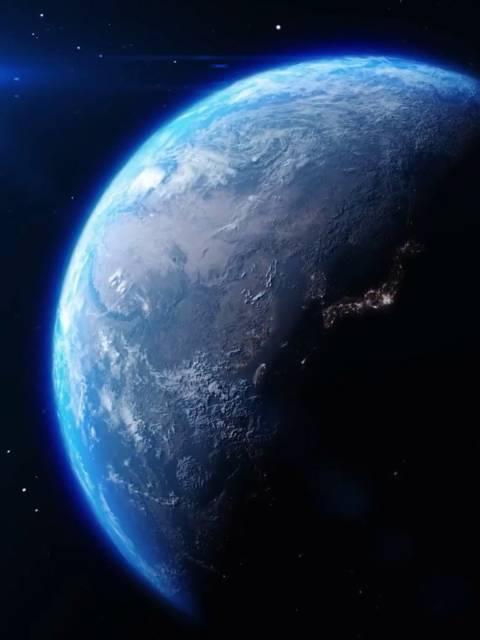 卫星拍摄中国大陆,夜晚灯火通明,都不睡觉的嘛?