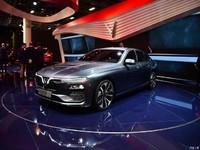 越南第一款汽车亮相巴黎车展!网友:车标设计吊带国产品牌!