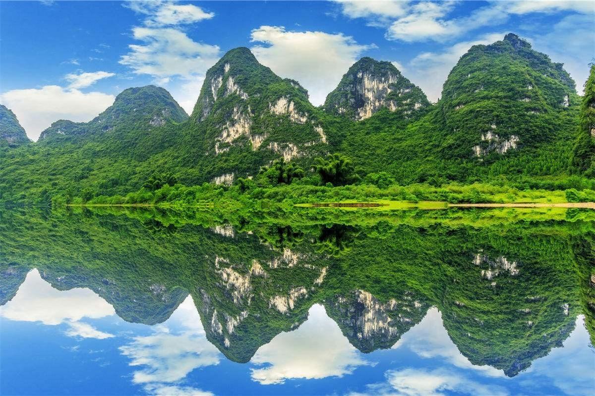 江山多娇:桂林山水甲天下高清大图二