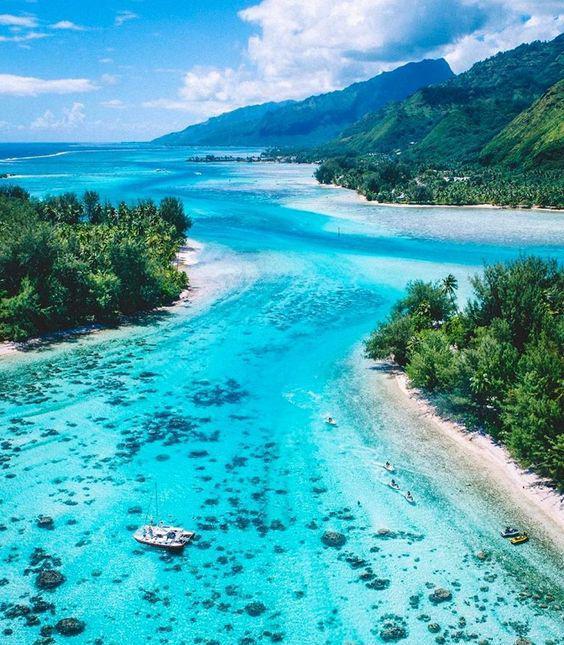 世界上绝美的海边沙滩风景