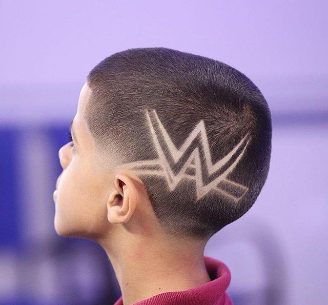 小男孩,剪这样的发型最酷