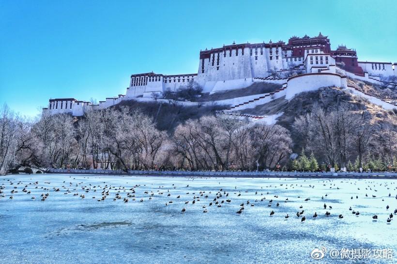 西藏拉萨冬季风景摄影美图