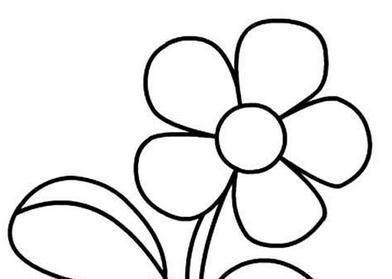 助宝宝很快学会画花朵