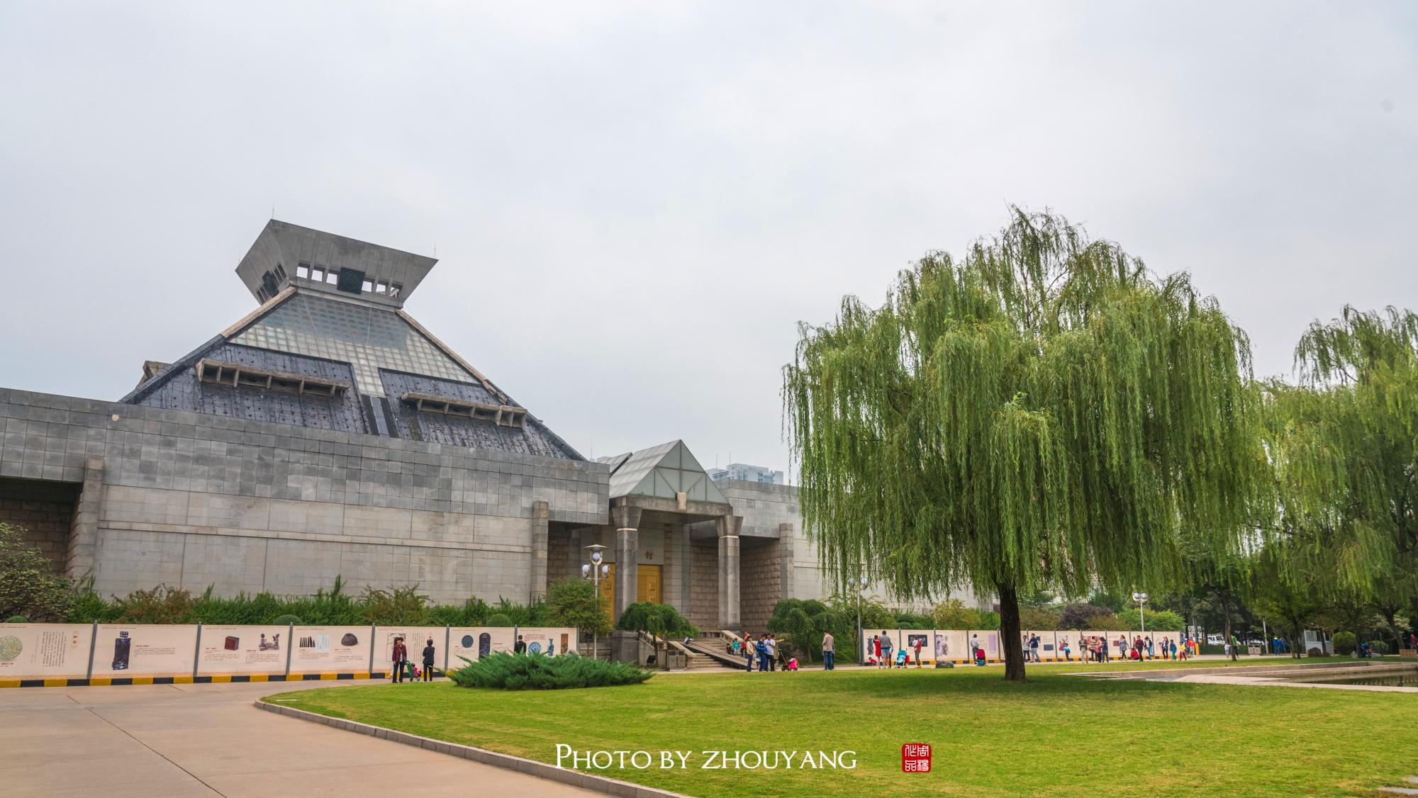 3年没修好的河南博物院,目前只开放这一个展馆