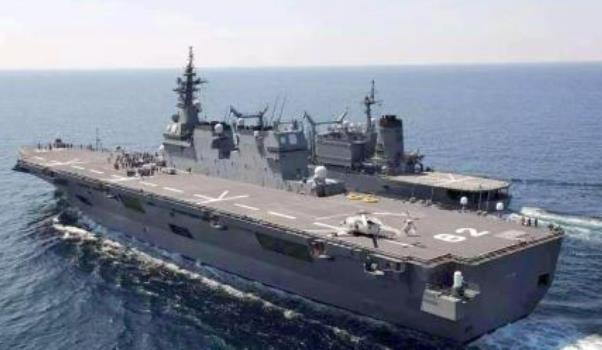 日本设计武器游走于边缘,装备大量防御系统,五万吨航母研发在即