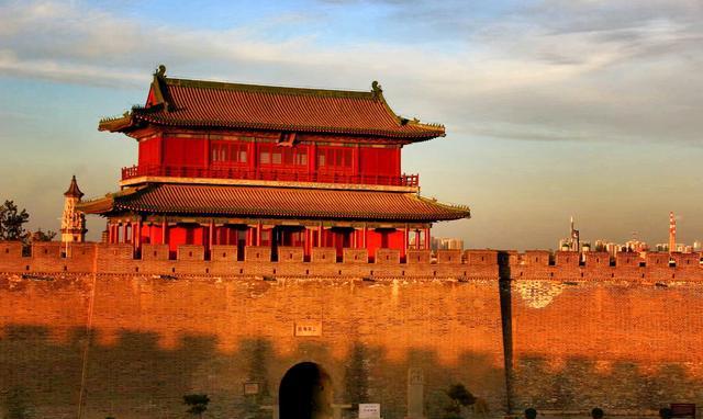 我拍-河北历史文化名城,正定古城南城门,千年风华再现
