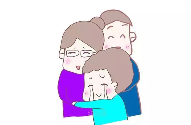 在孩子的婴儿期和幼年期,被父母拥抱是常有的行为,但是当孩子稍大后就