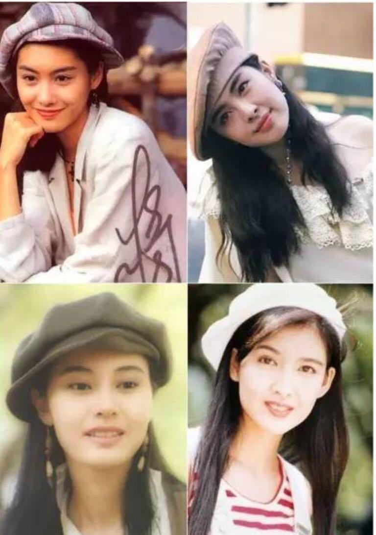 80年代的香港女星都很时髦啊! 露脐装也很迷人啊!