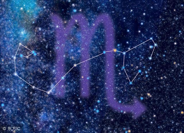 12简笔之天蝎座,天蝎座v简笔星座座星象图射手图片