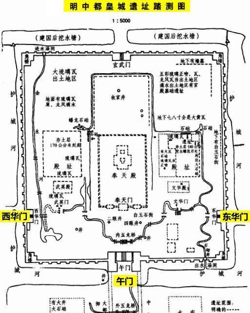 故宫平面图画法