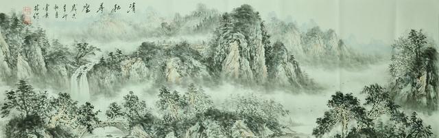 雅昌在线拍卖:红色历程-霍广林书画专场