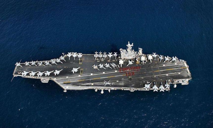 如果现在美国开战,他们能造出多少航母?