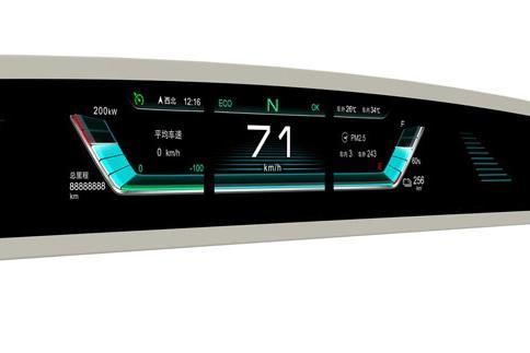 """比亚迪最新样式超宽液晶仪表盘曝光,莫非是""""老将""""e6要换代了?"""