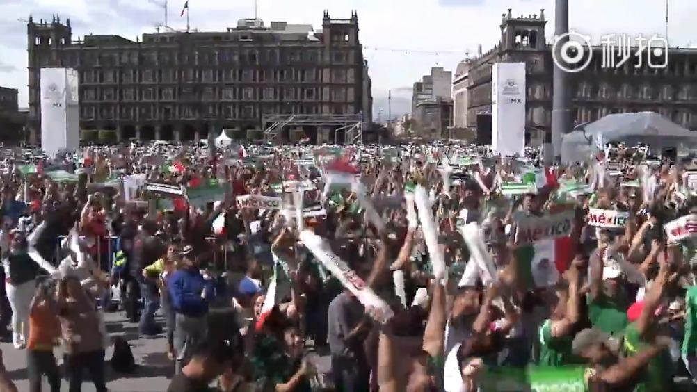 世界杯吐槽大会 墨西哥政府监测到墨西哥城区有小幅度的地震,而时间正好是墨...