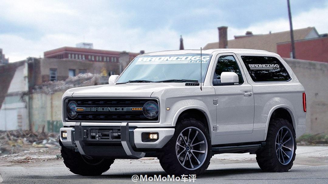 福特野马越野车,jeep牧马人的真正对手,将在2020年发布