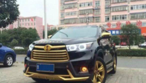 河南最土豪的汉兰达: 花30万改装, 但还怕五菱宏光