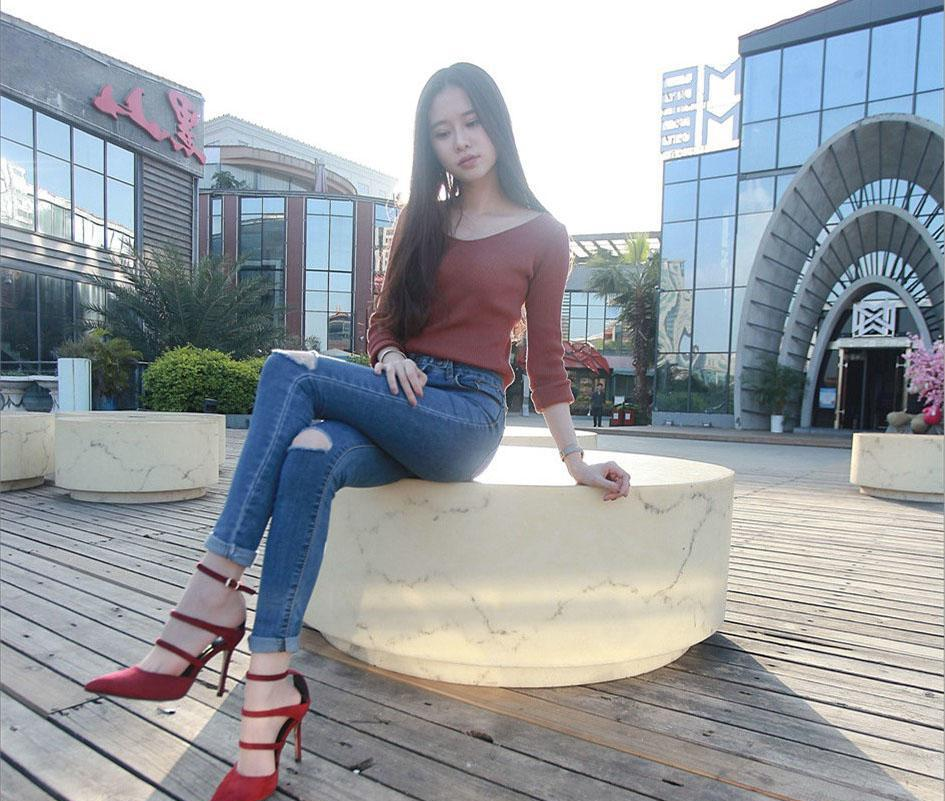 牛仔裤穿出美美身材, 魅力就得秀出来