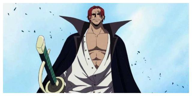 """面子果实"""",在海贼王漫画头几话中提到在十多年前红发香克斯在东海结识图片"""