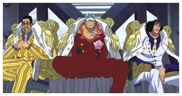 海贼王:海军大将的命名源自中国元素,新大将绿牛继承青雉的正义