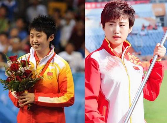 奥运名将10年照片对比!程菲董方卓发福严重,射击女神变化很大