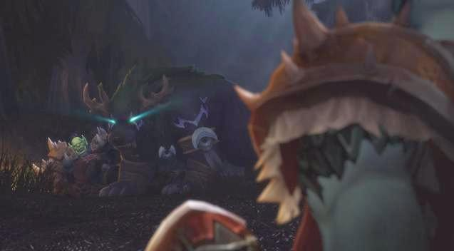 魔兽世界8.1:玛法里奥携精灵复仇部落营地!