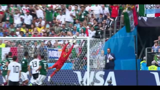 再次来重温一下俄罗斯世界杯上,那些守门员的精彩扑救吧