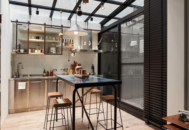 开放式厨房装修效果图,打造叹为观止的精品小宅!