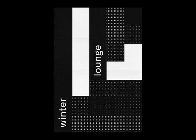 黑白创意海报设计欣赏系列
