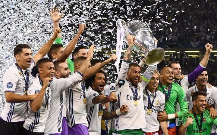 皇马过往三场欧冠决赛,只有3名球员全部首发并打满图片