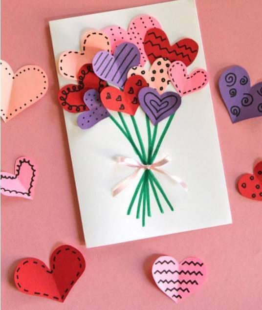 手工贺卡:幼儿园创意 手工吊饰,剪纸折纸,纸筒手工全
