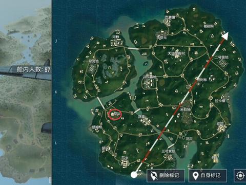 刺激战场祭坛在哪里?雨林地图祭坛点位分析图片