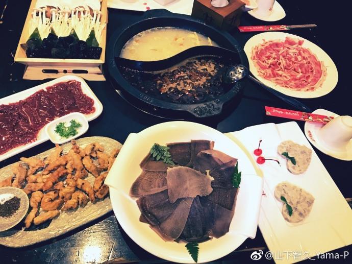 山下智久为中国粉丝学中文,迷上吃火锅,已经停不下来了