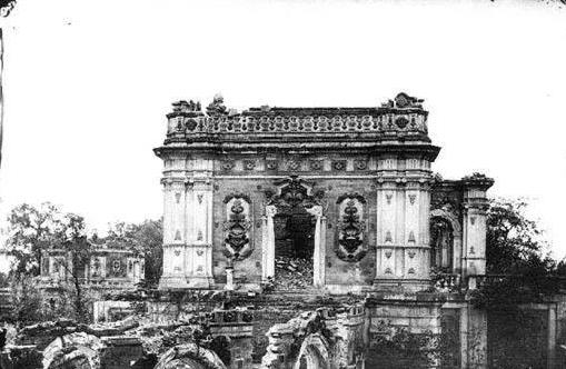 圆明园被毁灭前的真实照片,珍藏在故宫中,从不外传,实在太美