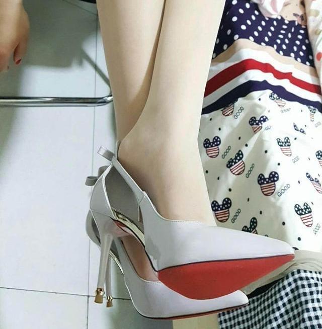 美脚搭配ol四季高跟鞋, 时尚优雅彰显气质