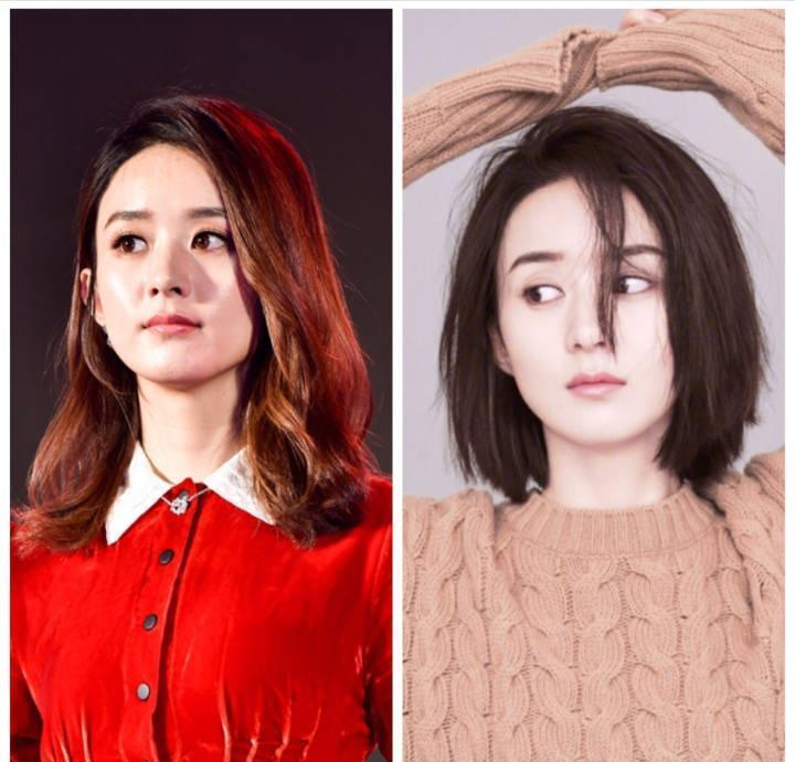 娱乐女明星人投票区_看看娱乐圈女明星有哪些人从长发到短发的变化是比较大的吧?
