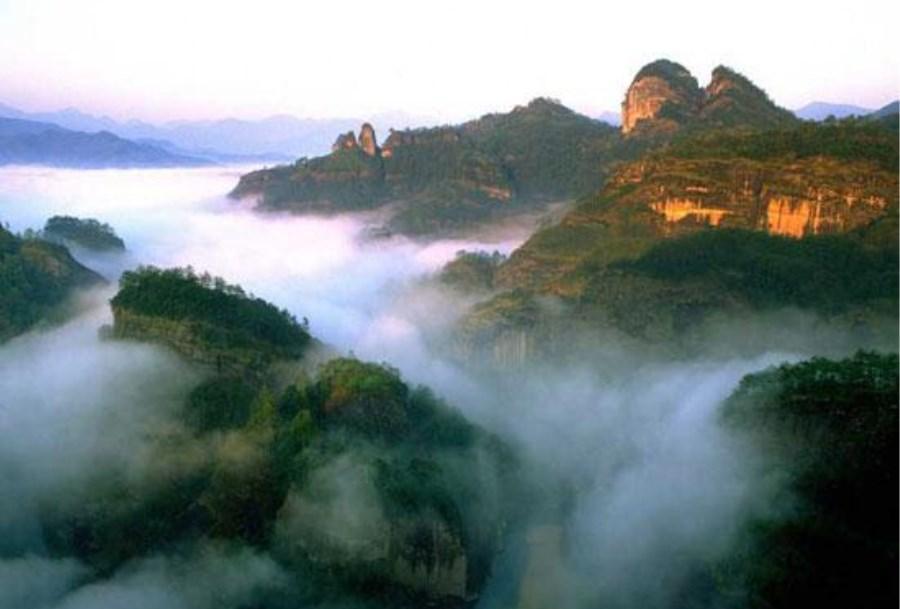 福建三明市唯一一个国家5A级旅游景区: 泰宁风景旅游区