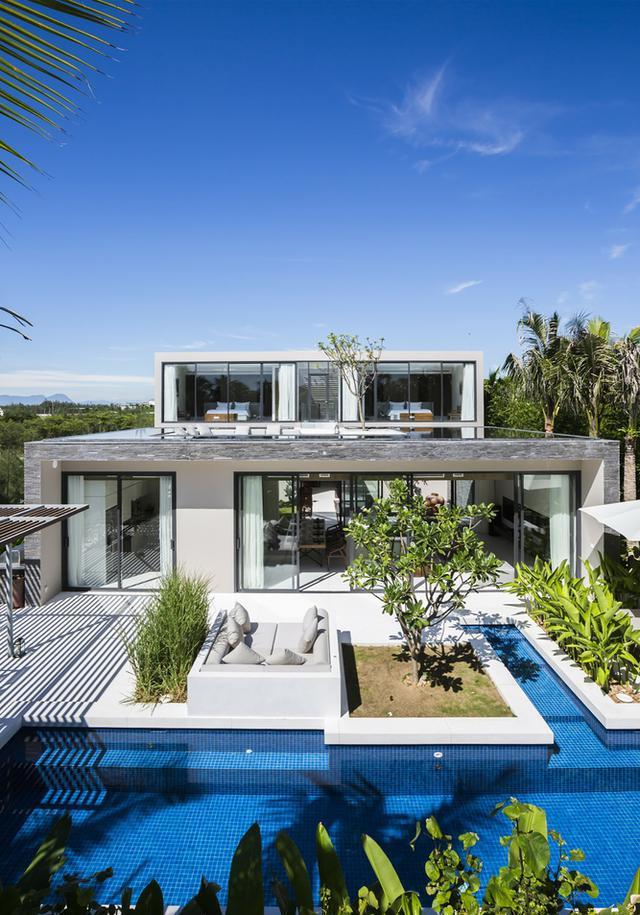 国外花园别墅v屋顶,屋顶上的游泳池特殊首付吗要求有别墅图片