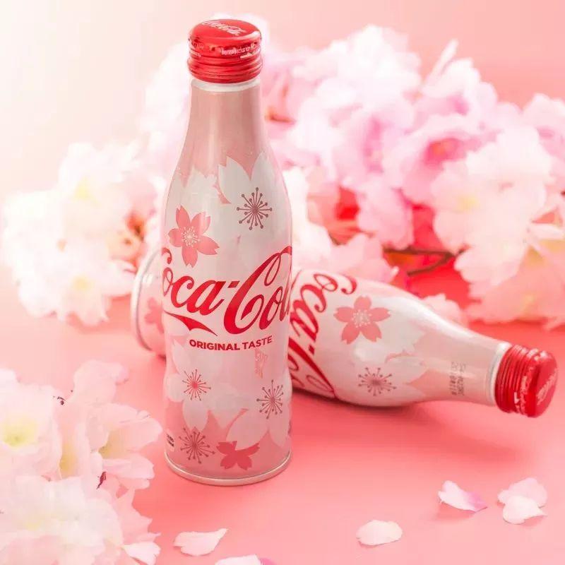 可口可乐樱花限量版图片
