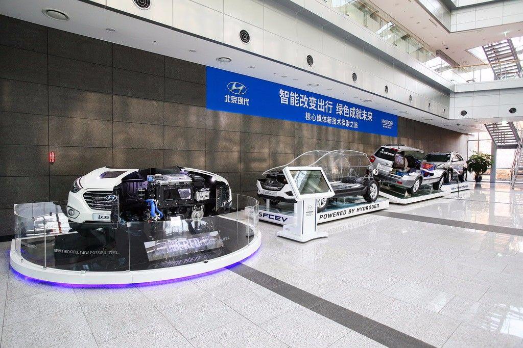 """亚洲CES展最强黑科技 现代汽车带来了一台""""移动空气净化器"""" 汽车殿堂"""