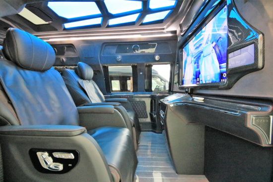 安逸出行GMC房车G760星际尊翔天玺版