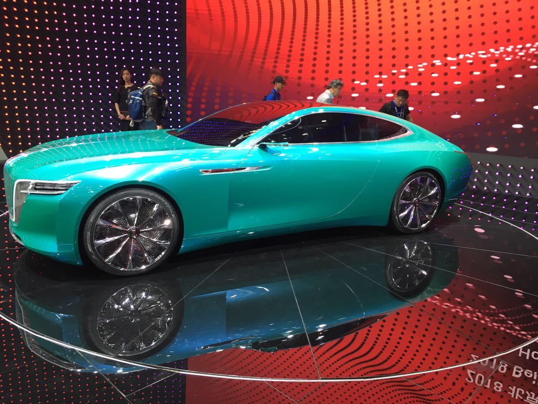 北京车展最厉害的国产车,它一出场,宾利、劳斯莱斯都没人看!