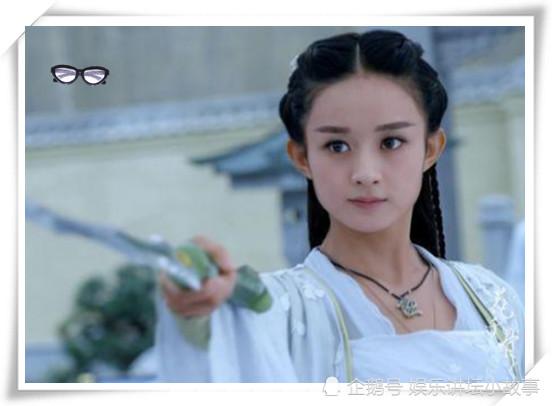 古装白衣女星:赵丽颖可爱,刘亦菲清秀,热巴像个小仙女,而她美到了