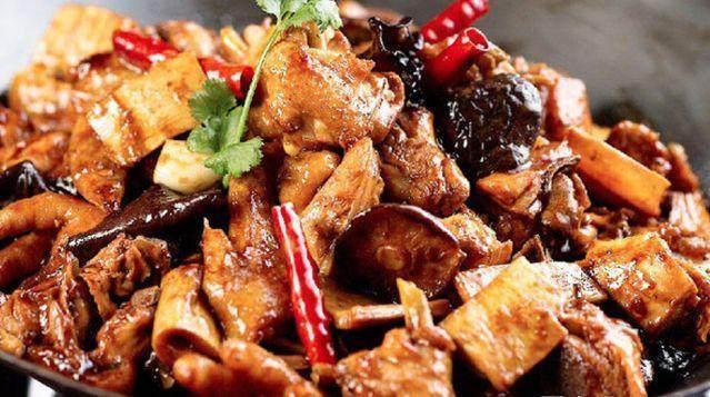 干锅鸡农用多糖香菇图片