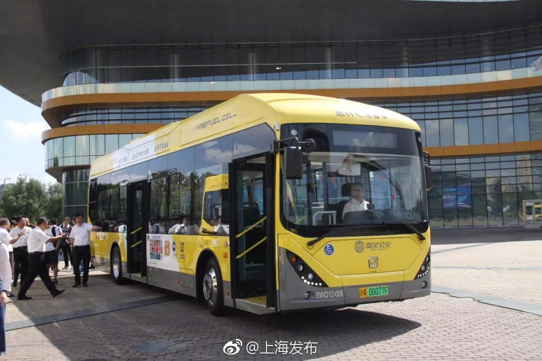 申沃客车氢燃料电池客车交付嘉定,在嘉定114路上线运营