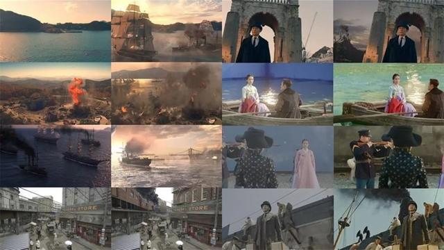 tvn《阳光先生》每个拍摄场景特别cg构图,美到像一幅幅画图片