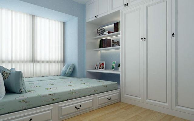 小卧室做成榻榻米,省空间逼格十足